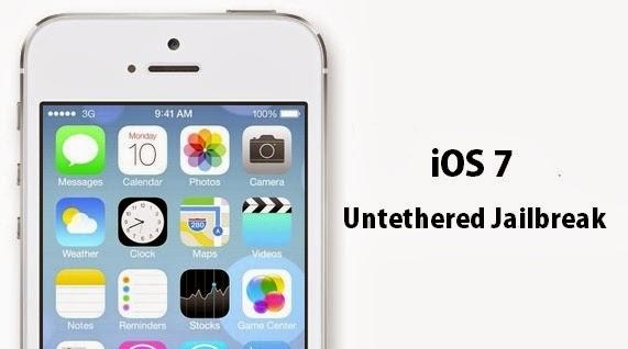 iOS 7 Jailbreak Untethered - Hackerz