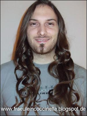 Frisur Banane Heißwickler Test Hairstyling Locken Timo Christine Kunkel MUA Make Up Artist Visagistin Frankfurt Maskenbildnerin Hochzeit Darmstadt Brautfrisur Toupage Vintage