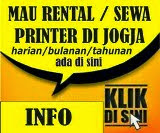 Info Rental Printer Jogja
