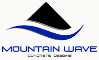 Mountain Wave Concrete Designs