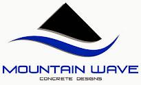 Mountain Wave Concrete Designs