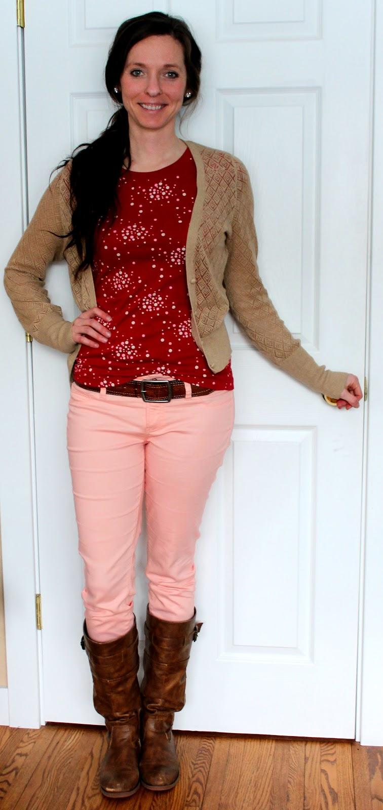 Pants with polka dots 3