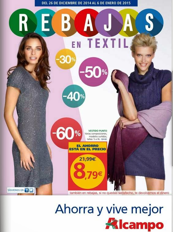 Oferta de Vestidos Punto 8.79 euros