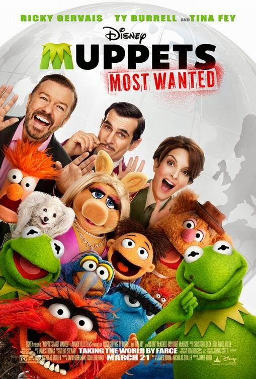 El tour de los Muppets (2014) [BR-SCREENER 720p] [Castellano HQ] [Musical]