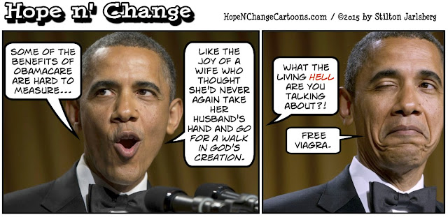 obama, obama jokes, political, humor, cartoon, conservative, hope n' change, hope and change, stilton jarlsberg, obamacare, supreme court, god's creation