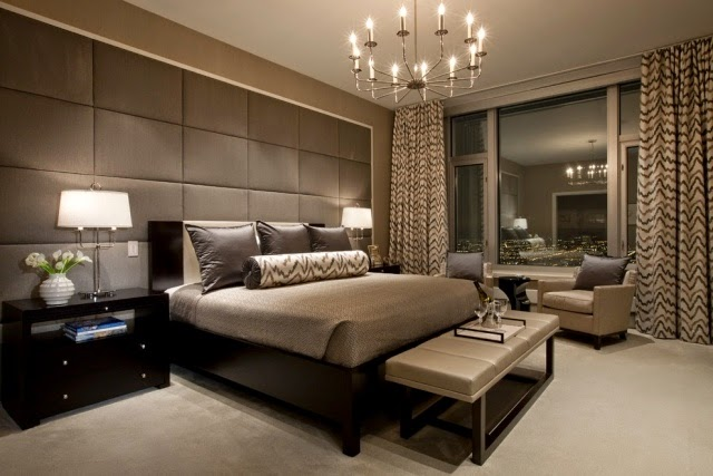 Beautiful Luxury Bedroom Ideas Establish Long Curtains Color Scheme Gray Amazing Pictures