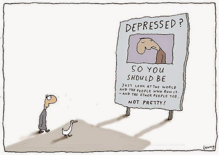 Michael Leunig: Depressed?