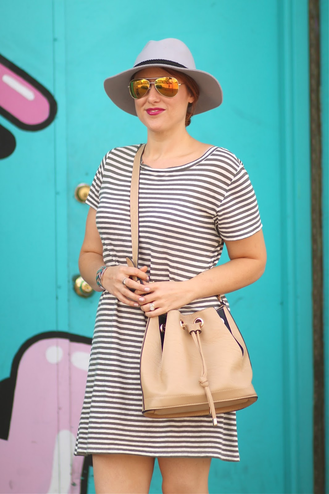 forever, 21, striped, dress