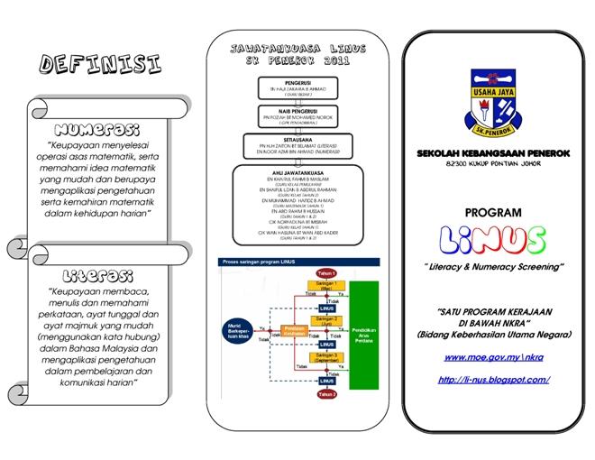 Brochure LINUS SK Penerok 2011