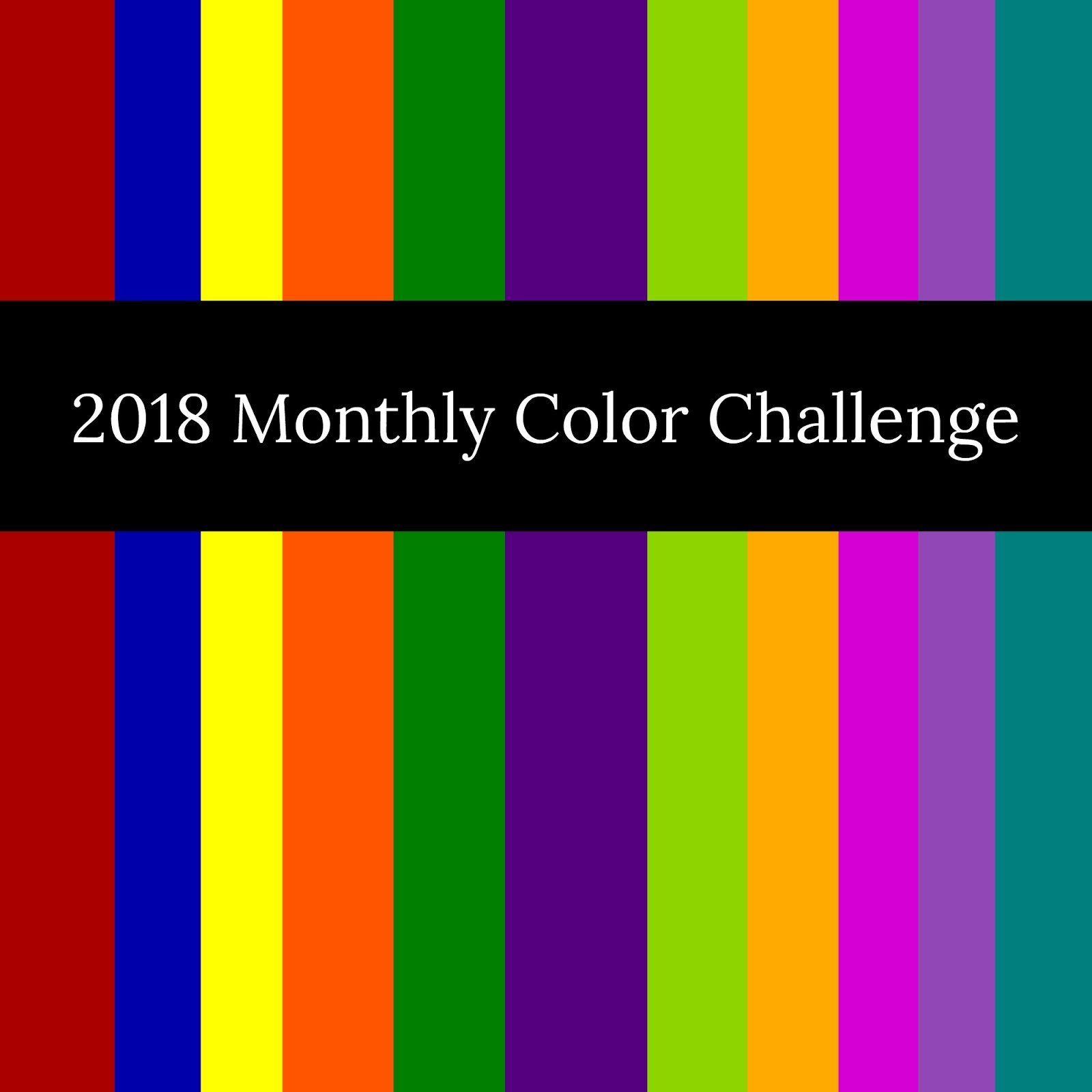#2018MonthlyColorChallenge