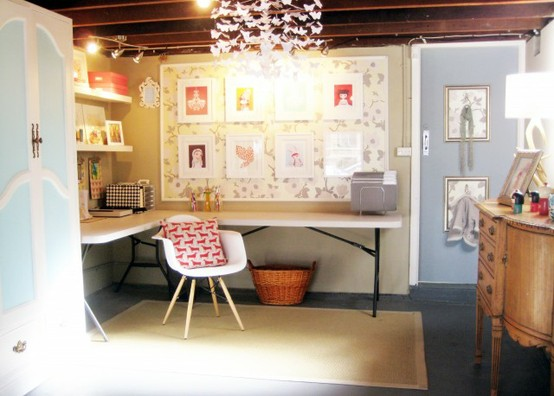 Inspire Bohemia: Home Offices and Craft Rooms Part II