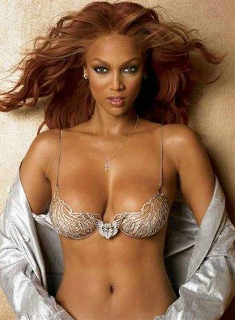 cleavage Tyra banks