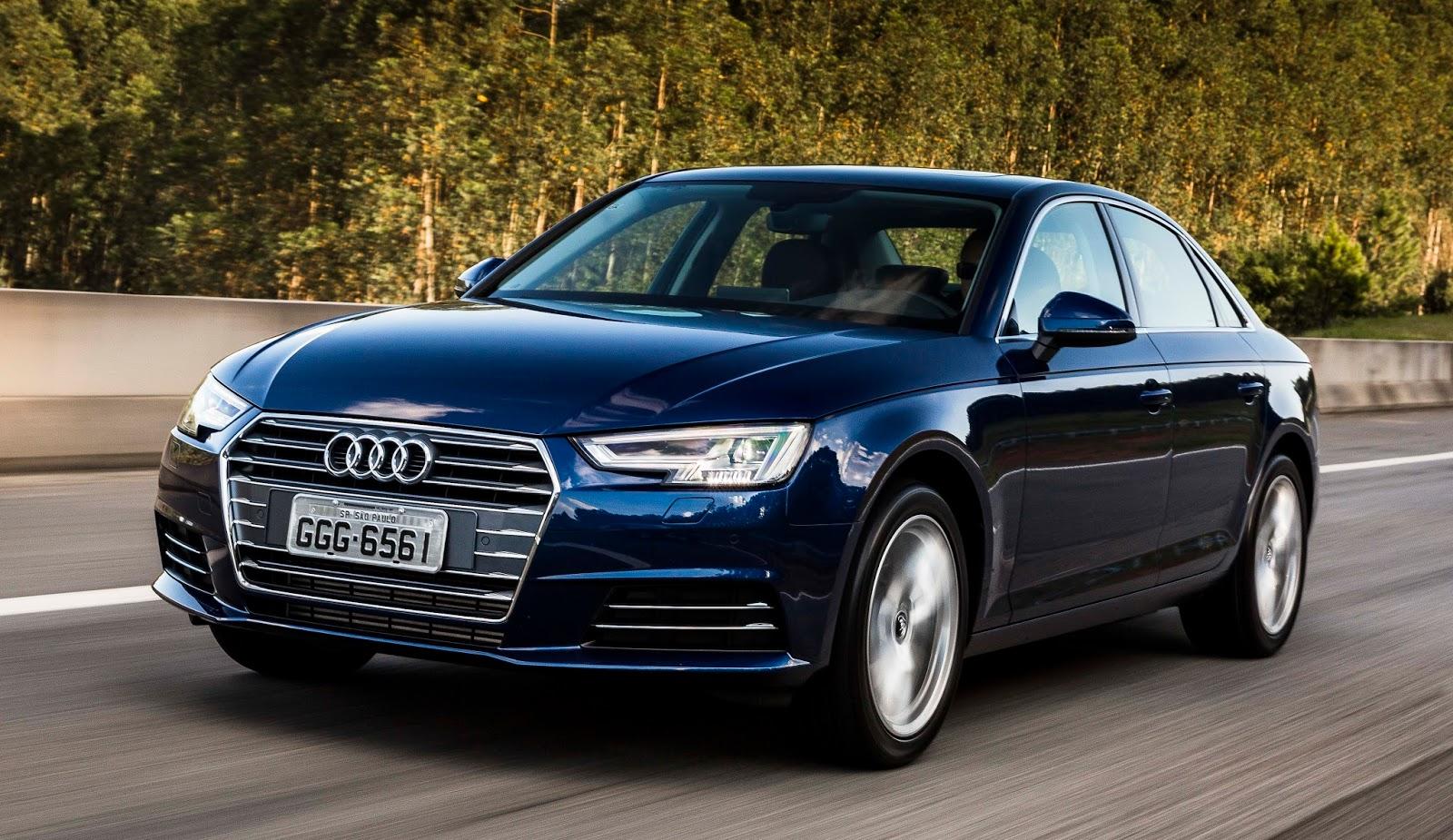 Audi a4 chega ao brasil totalmente repaginado