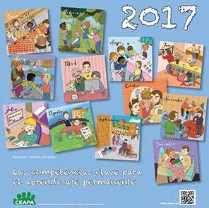 CALENDARIO 2017 PARA EL DESARROLLO DE COMPETENCIAS BÁSICAS EN FAMILIA