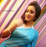 marathi actress rupali bhosale in blue tranparent saree Pictures HQ Picture CP0.jpg