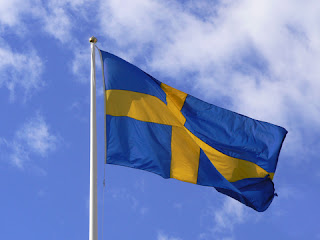 Svensk flagga - The swedish flag