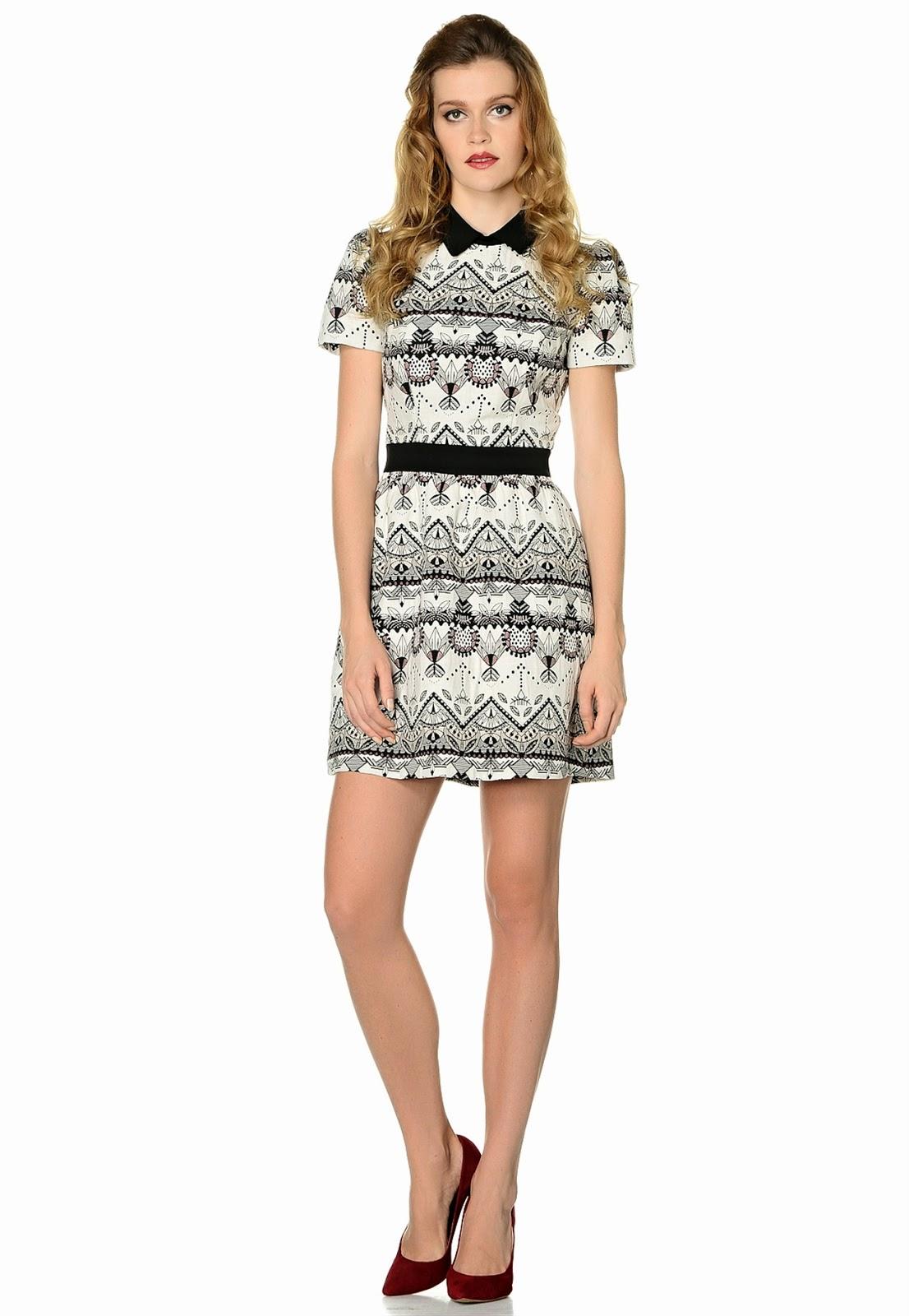desenli elbise, yazlık elbise, beyaz elbise, 2015 elbise modelleri, adil ışık elbise