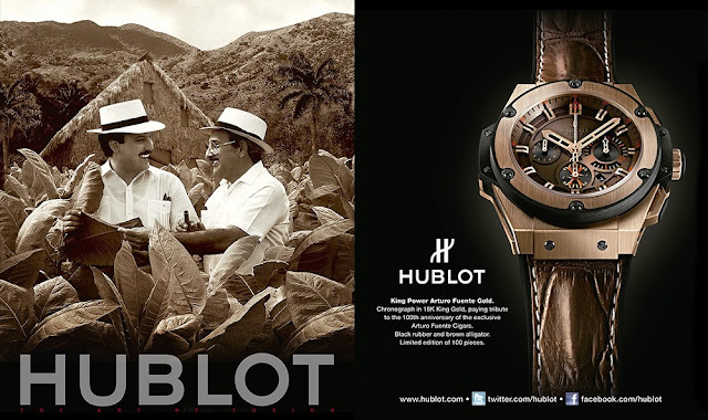 Hublot King Power Arturo Fuente Gold Poster