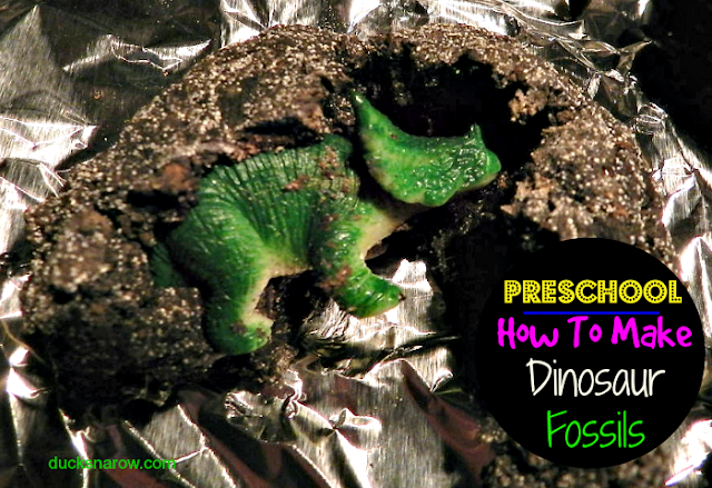 how to make dinosaur eggs for preschool D is for Dinosaur lesson