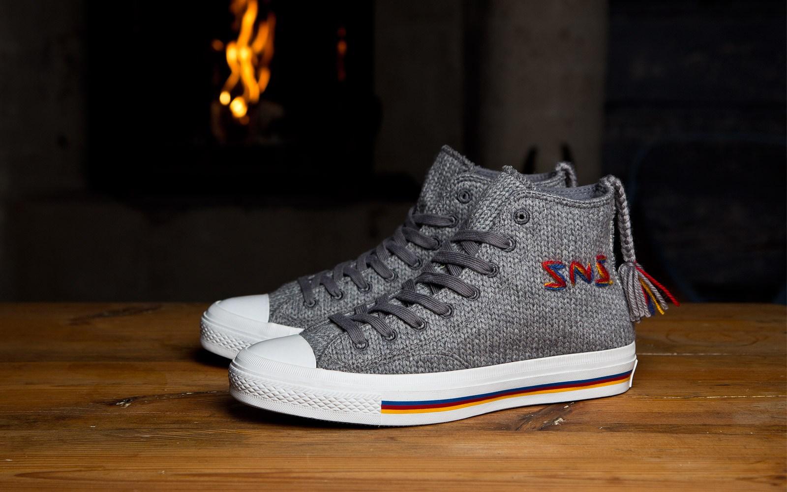 stickade converse skor mönster vuxen