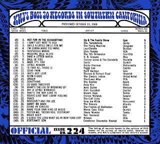 KHJ Boss 30 No. 224 - October 15, 1969