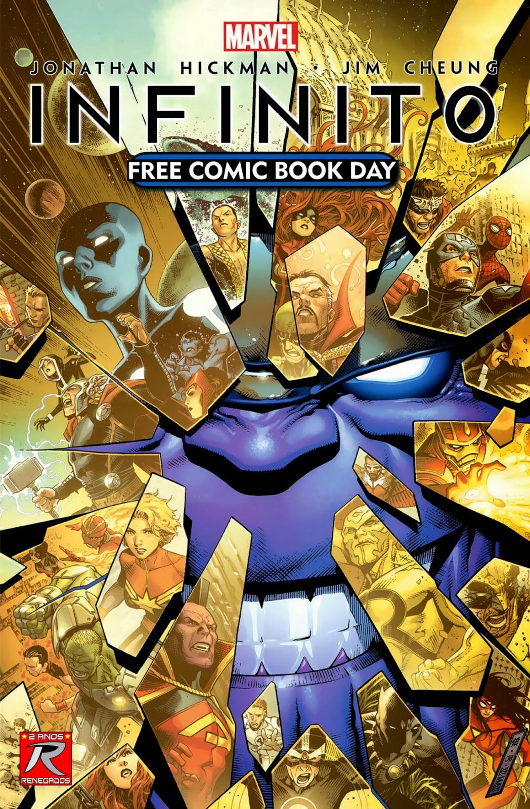 Nova Marvel! Infinito - Dia do Quadrinho Grátis #1
