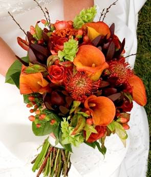 Wedding flowers wedding flowers autumn - Flowers for wedding in october a colorful autumn ...