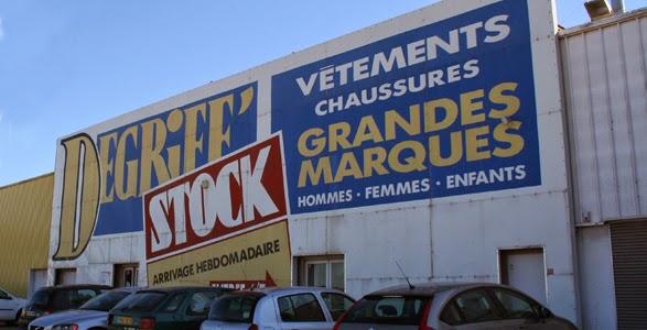 déstockage selon Dégriff Stock Drôme