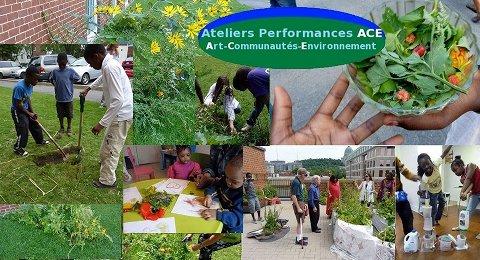 Les Ateliers Performances ACE avec la communauté Place Benoît -10 juillet 2011 au 18 octobre 2012