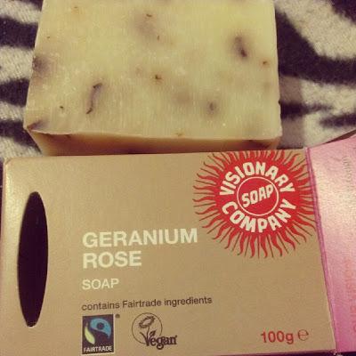 Geranium Rose Soap Visionary Soap Company KatSick