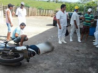 Comerciante é assassinado a tiros em Itabaiana