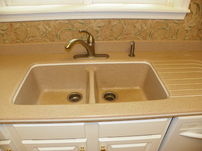 The solid surface and stone countertop repair blog for Solid surface kitchen sink