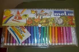 ... dos estojos canetas Molin