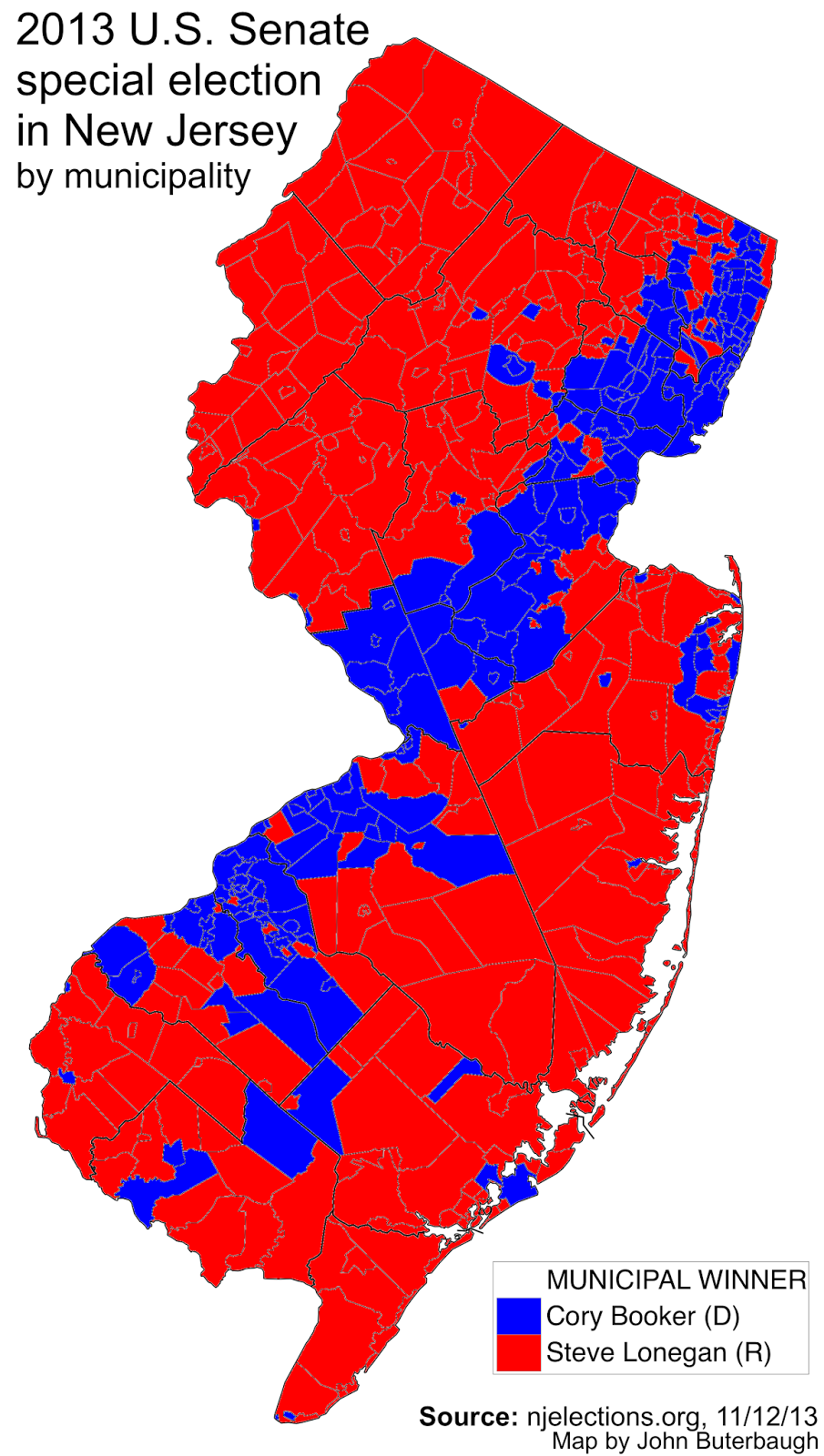 Latest Posts Of Johnbuterbaugh - Us map election county results