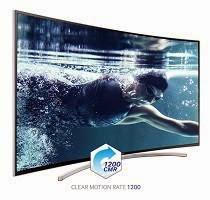 Elegant remote control of samsung curved tv