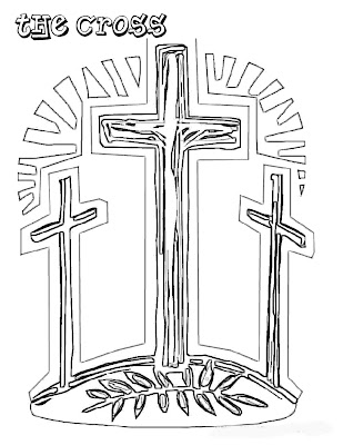 Free Coloring Pages Christian Easter Coloring Pages