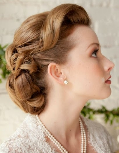 Fashion Beauty Classic Vintage Hairstyles - Classic vintage hairstyle