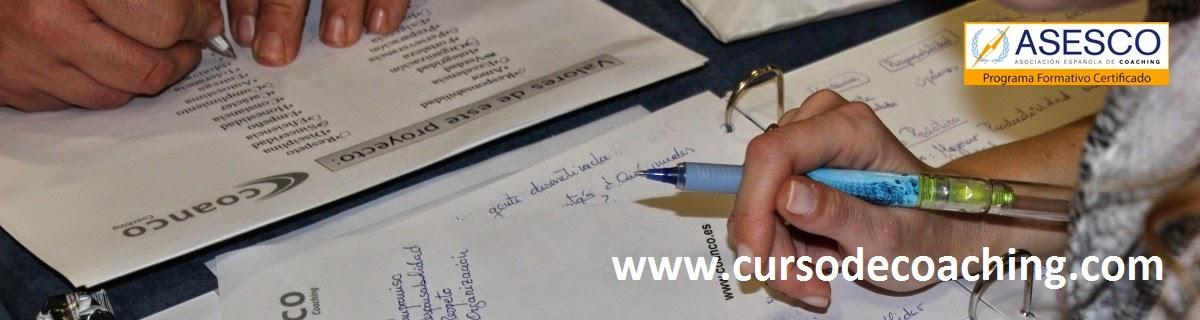 CURSOS DE COACHING de COANCO. Certificado ASESCO