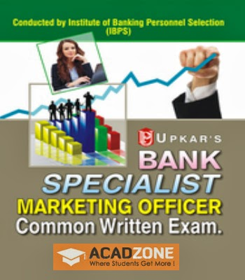 Bank Specialist Marketing Officer Common Written Exam