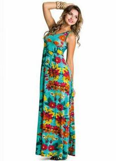 vestido longo com flores para reveillon - fotos e dicas