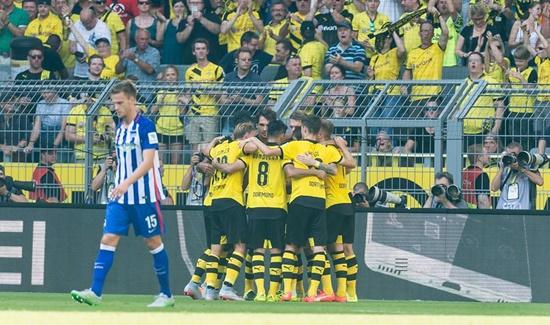 Borussia Dortmund 3 x 1 Hertha Berlin - Campeonato Alemão(Bundesliga) 2015/16