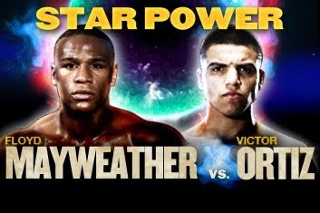 Star Power Floyd Mayweather Jr. vs Victor Ortiz