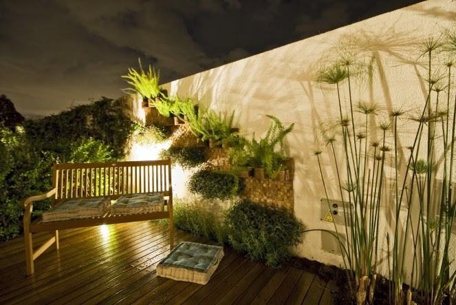 iluminacao de jardim fotos:Blog da Elisa Ávila: Aconchego no jardim