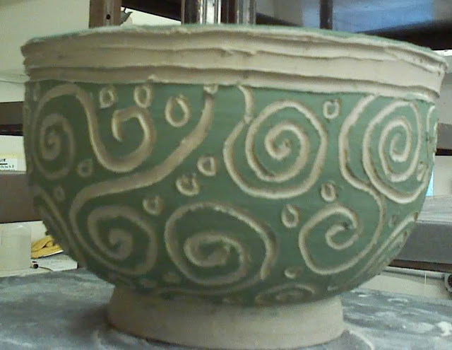 blabbing about pottery