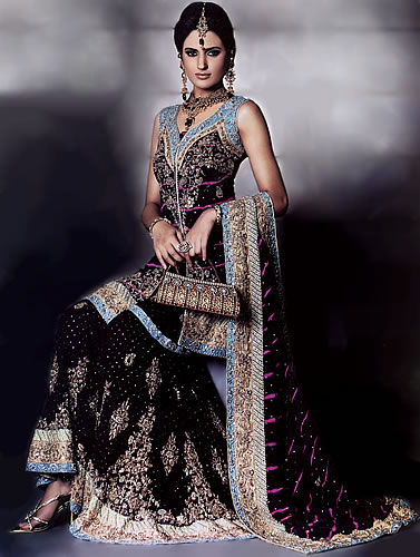 Beautiful Pakistani Party Wear Dresses 2012 2013 4 - Polling OF Fashion Comp Aug 2012