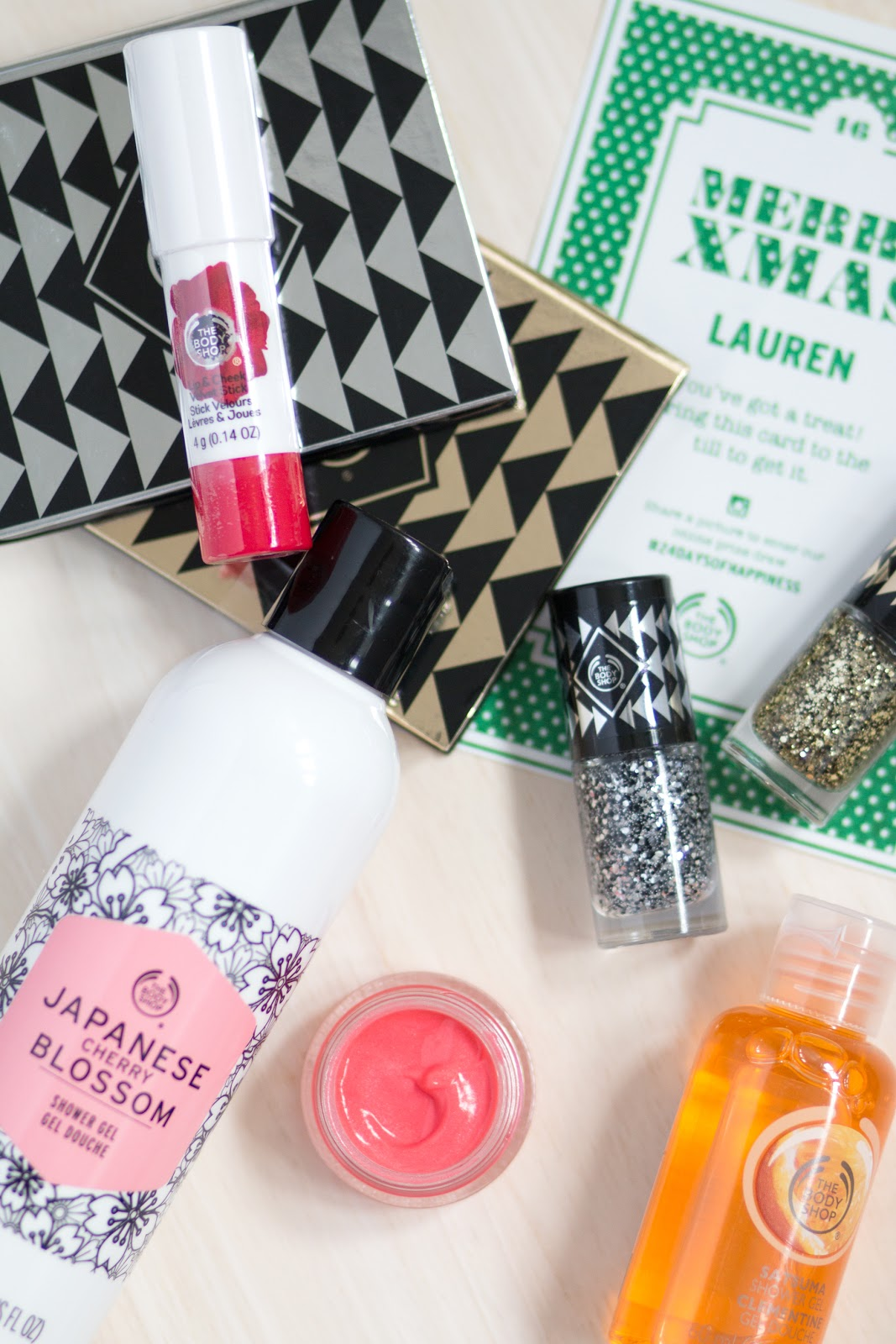 THE BODY SHOP'S 24 DAYS OF HAPPINESS