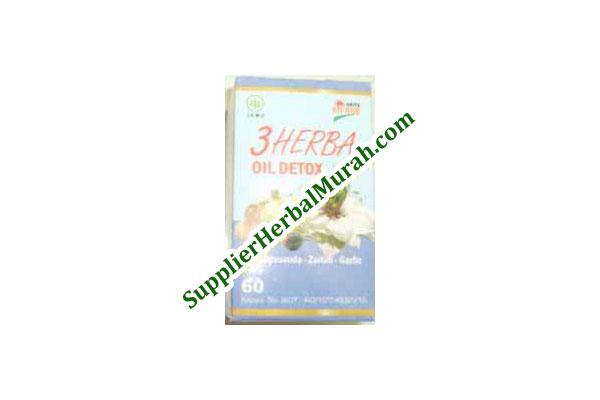 3 Herba Oil Detox (Habbatussauda + Zaitun + Garlic)