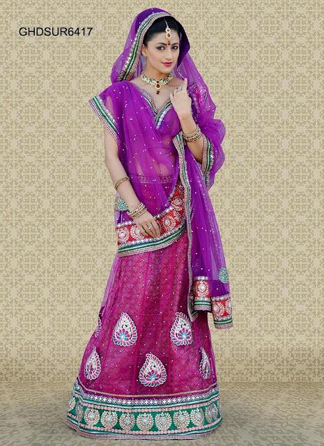 Mehndi Lehenga Combinations : Indian bridal lehenga collection bridesmaid