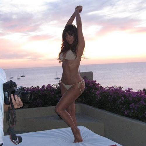 Bikini Body In Kim Kardashian
