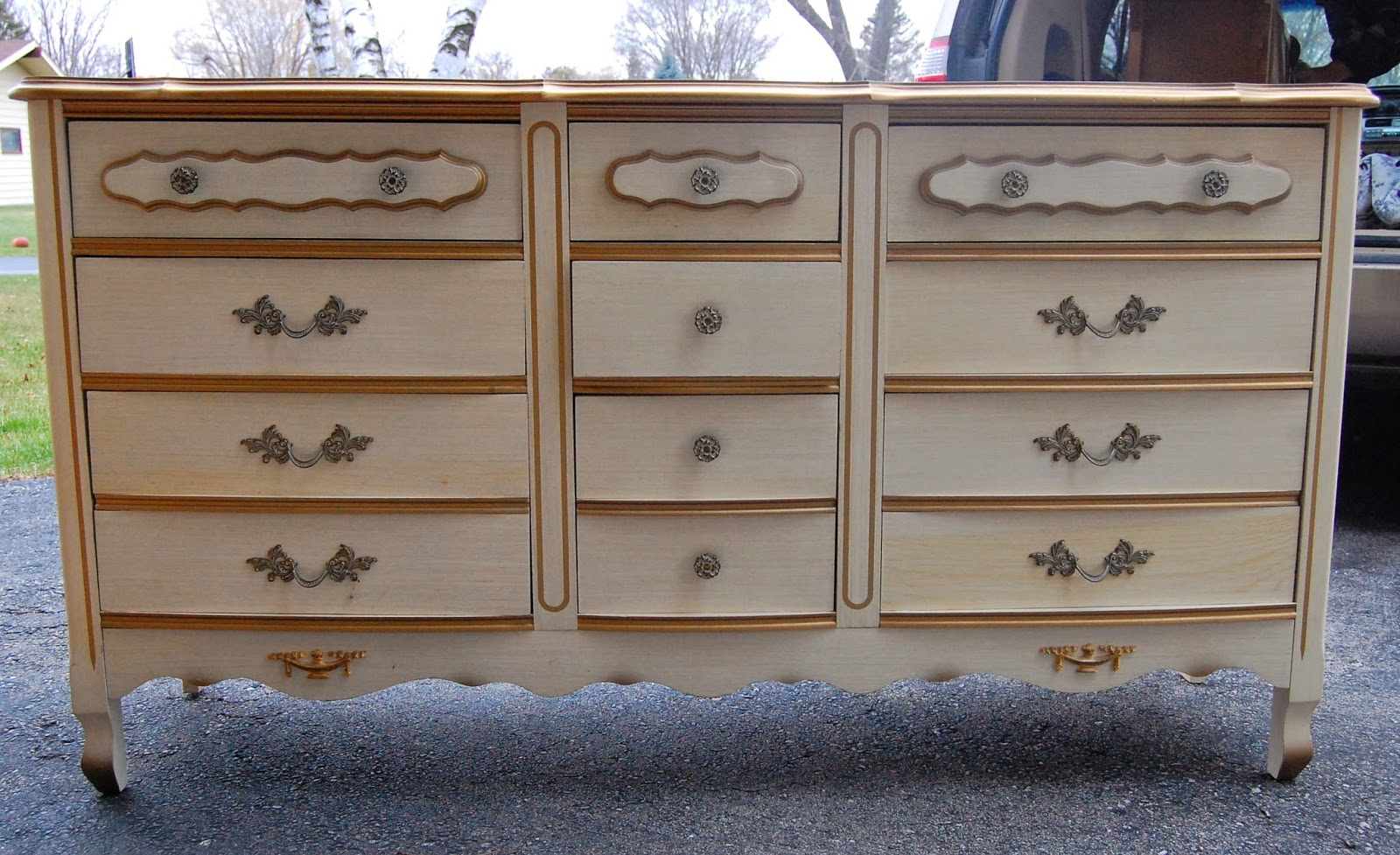 French provincial bedroom set before after lily field for French provincial bedroom furniture